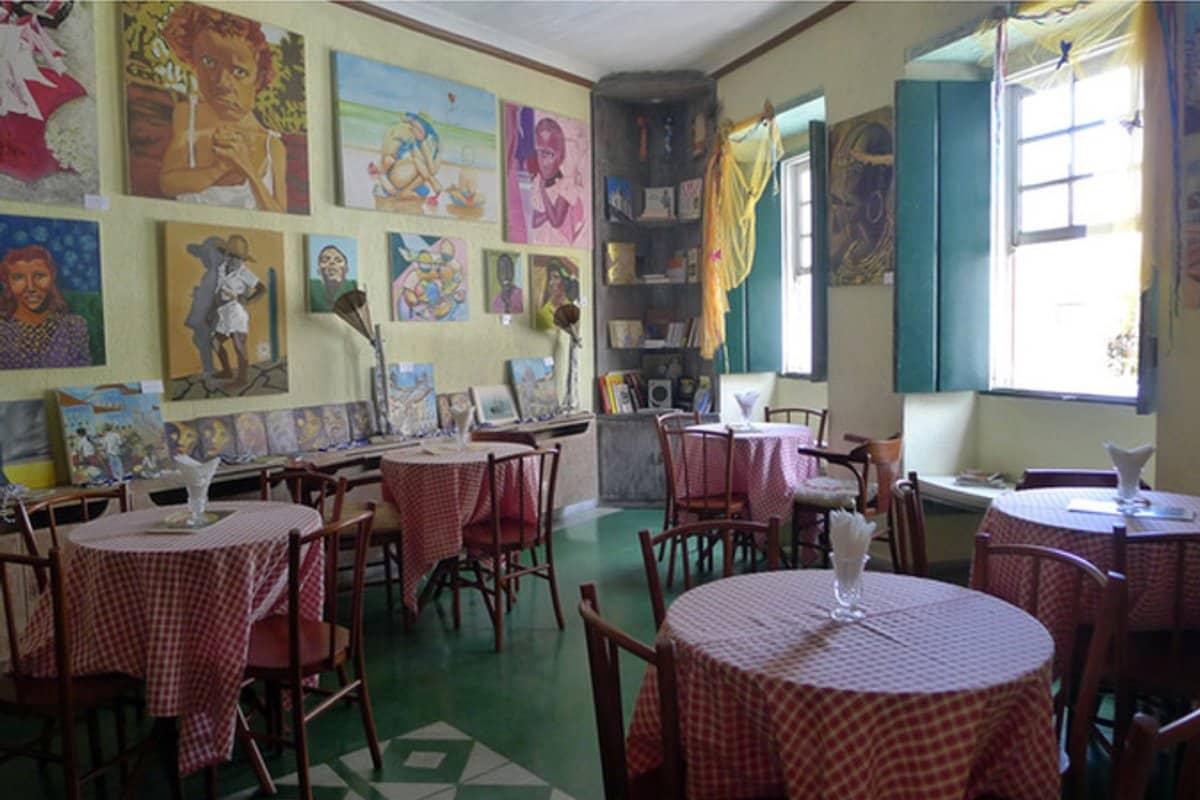Cafe in Salvador da Bahia - Brasilien - Reiseblog Bravebird