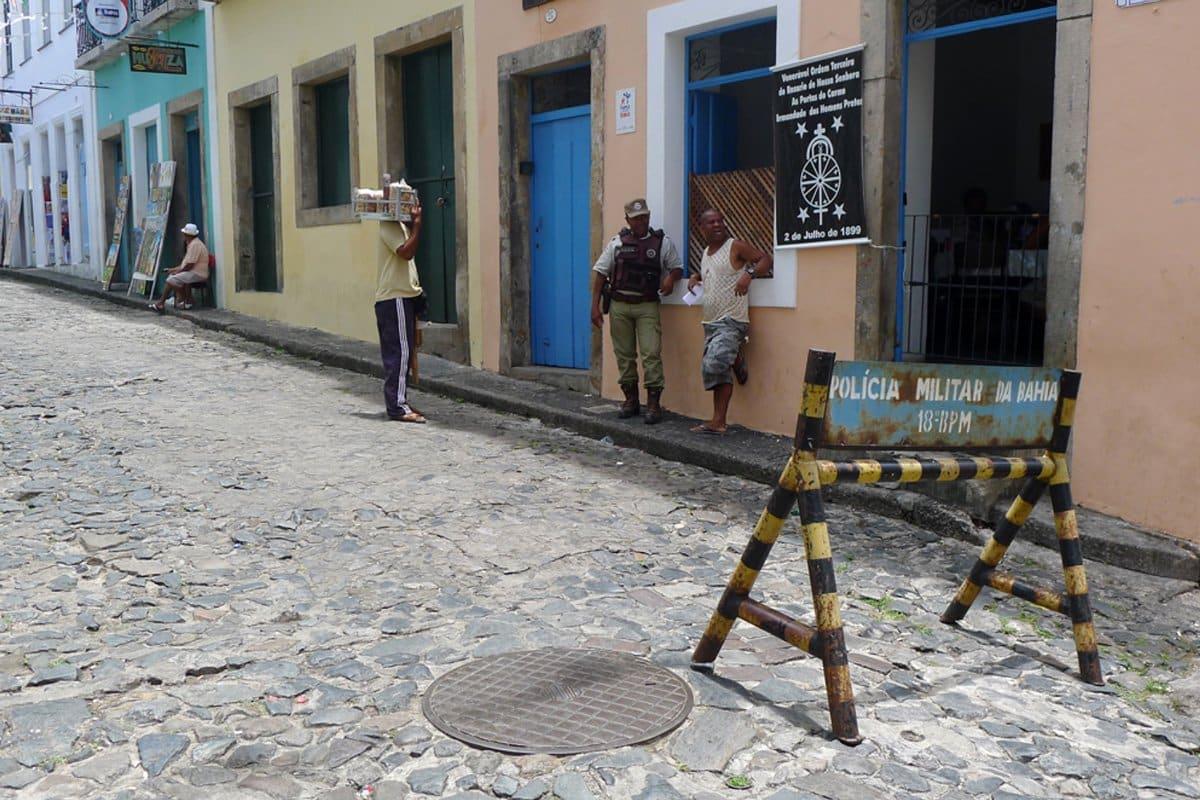 Straßen von Salvador da Bahia - Brasilien - Reiseblog Bravebird