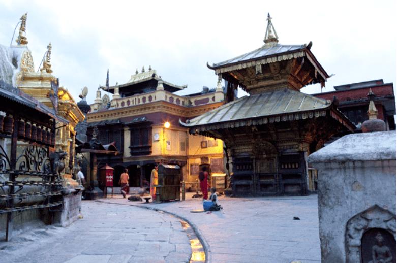 Nepal Affentempel