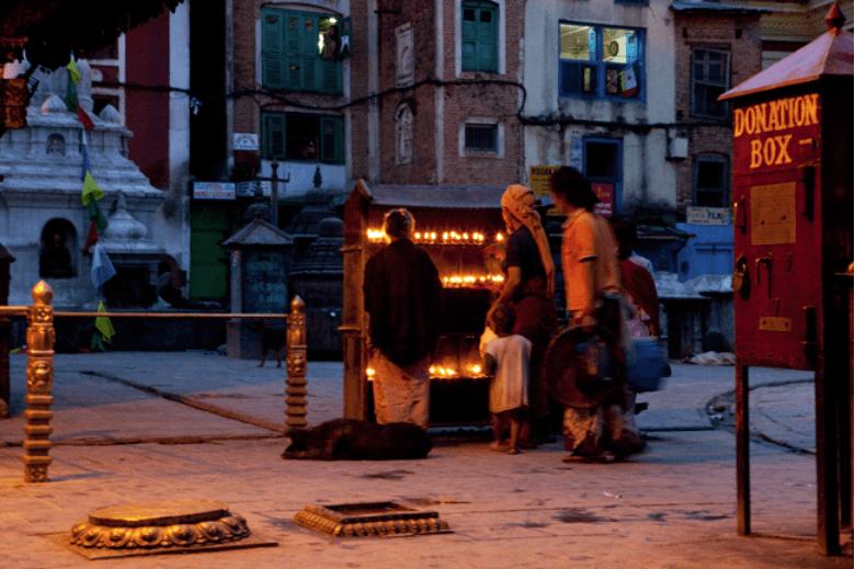 Kathmandu Affentempel