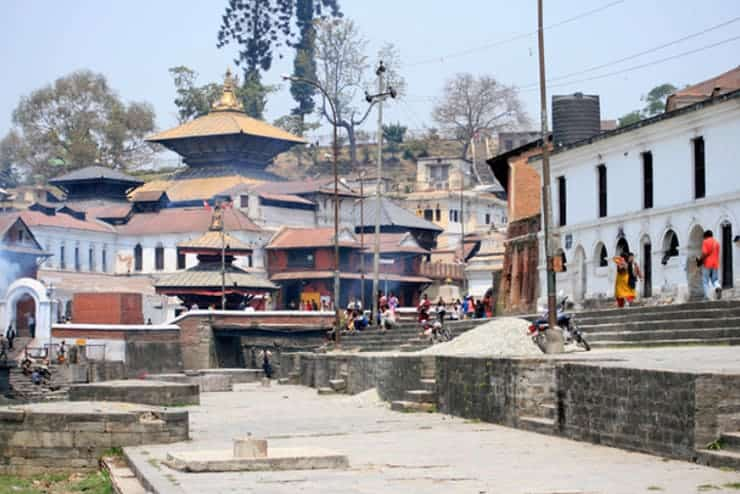 Nepal Pashupatinath Tempel