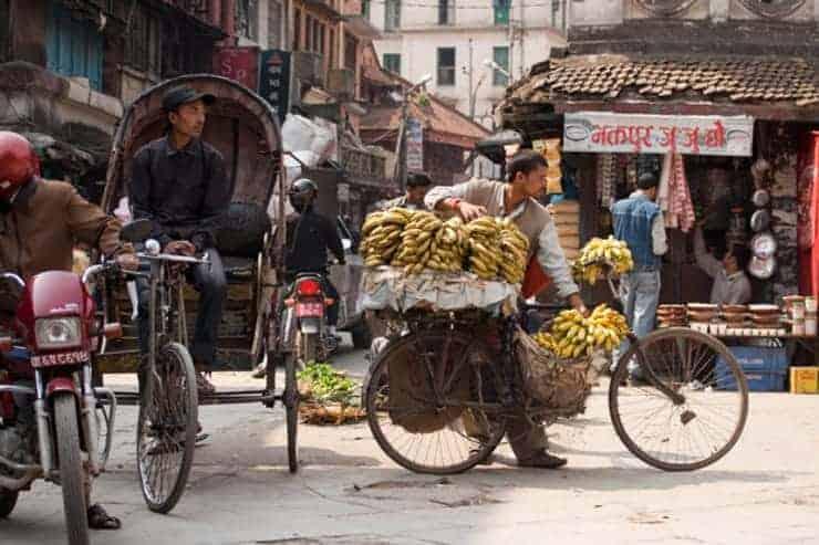 Nepal Kathmandu Street