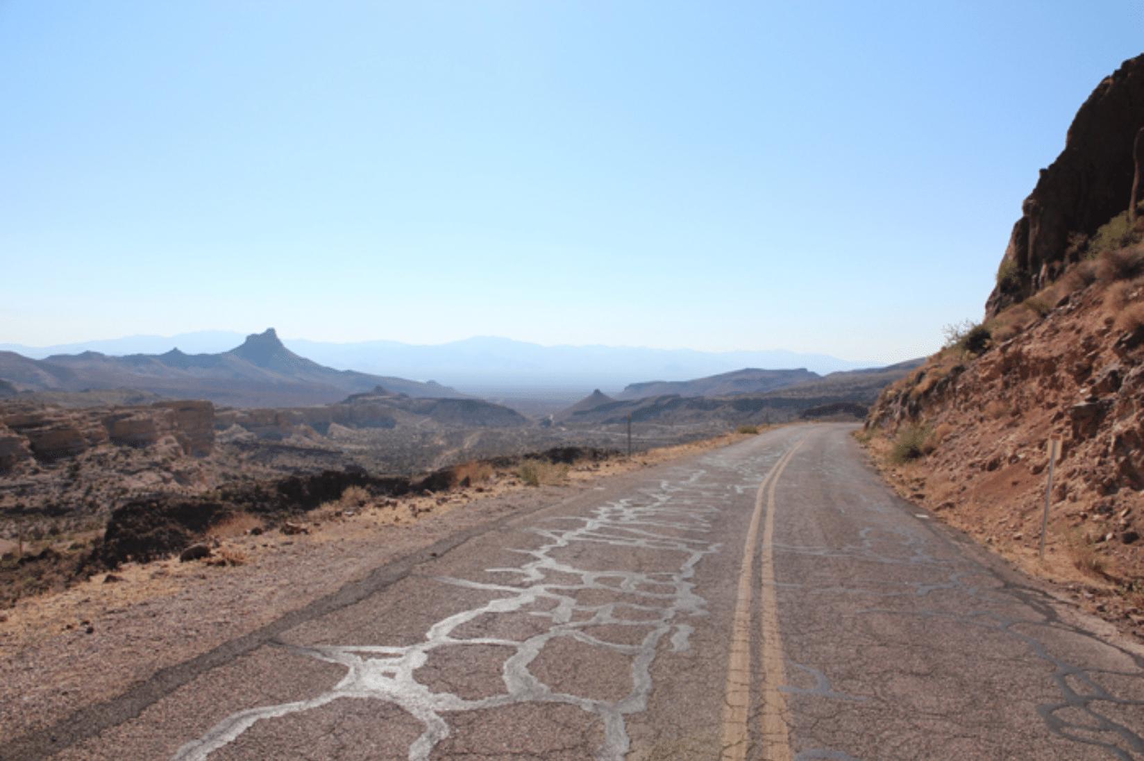 Route 66 Wüste
