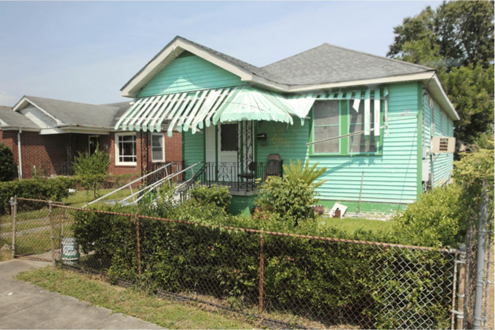 New Orleans Häuser