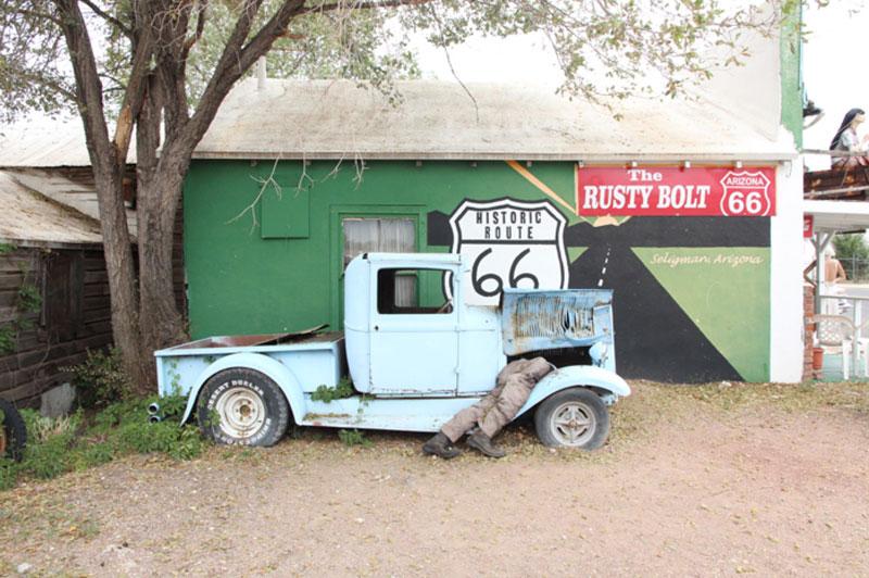 Seligman auf der Route 66 - Roadtrip USA - Reiseblog Bravebird