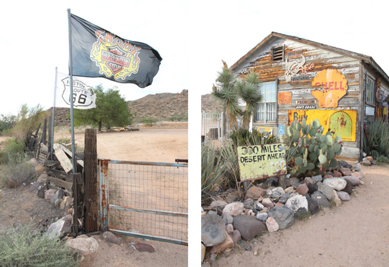 Hackberry Route 66 - Roadtrip USA - Reiseblog Bravebird