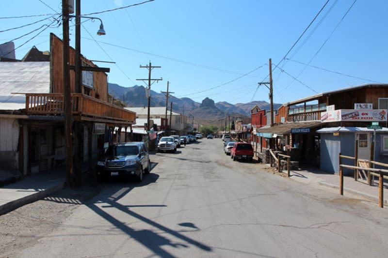Oatman die besten Orte auf der Route 66 - Roadtrip USA - Reiseblog Bravebird