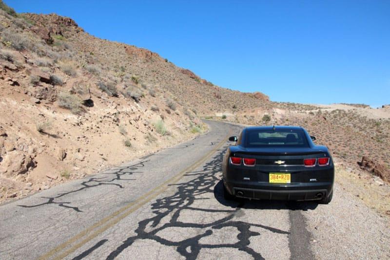 Route 66 der beste Abschnitt - Reiseblog Bravebird