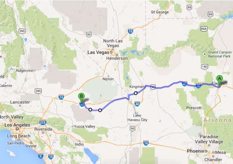 Der beste Teil der Route 66 - Reiseblog Bravebird