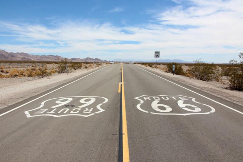 Die besten Route 66 Zeichen auf der Strasse - Reiseblog Bravebird