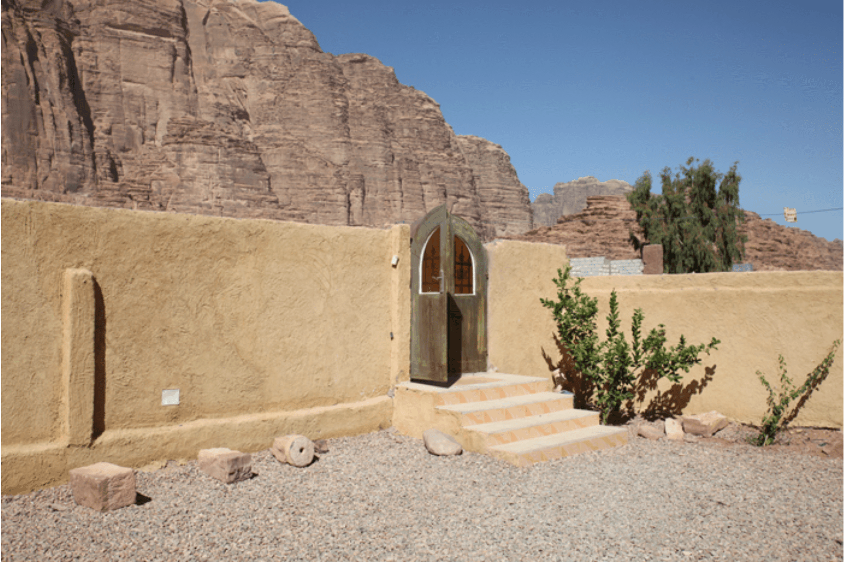Wadi Rum Dorf Jordanien