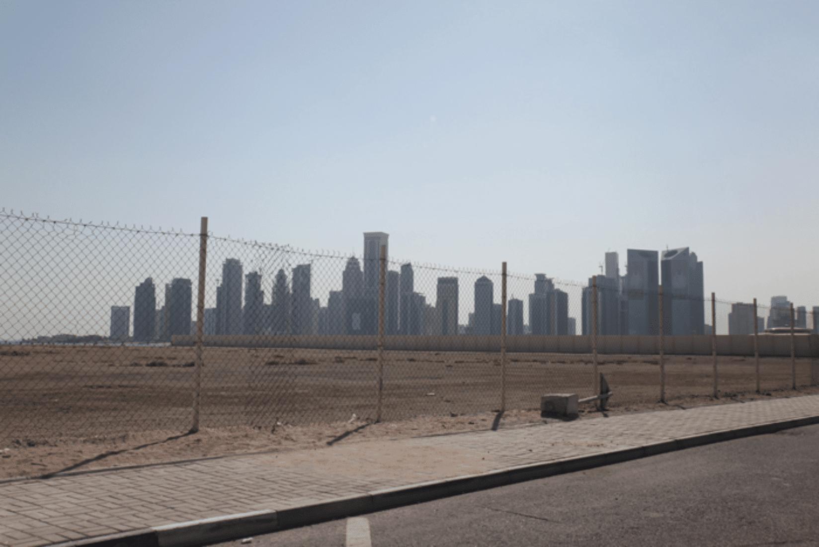 Doha Baustellen Skyline
