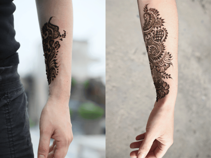 Indien Henna Tattoo