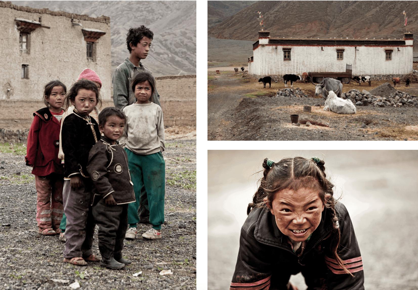 Tibet Kinder