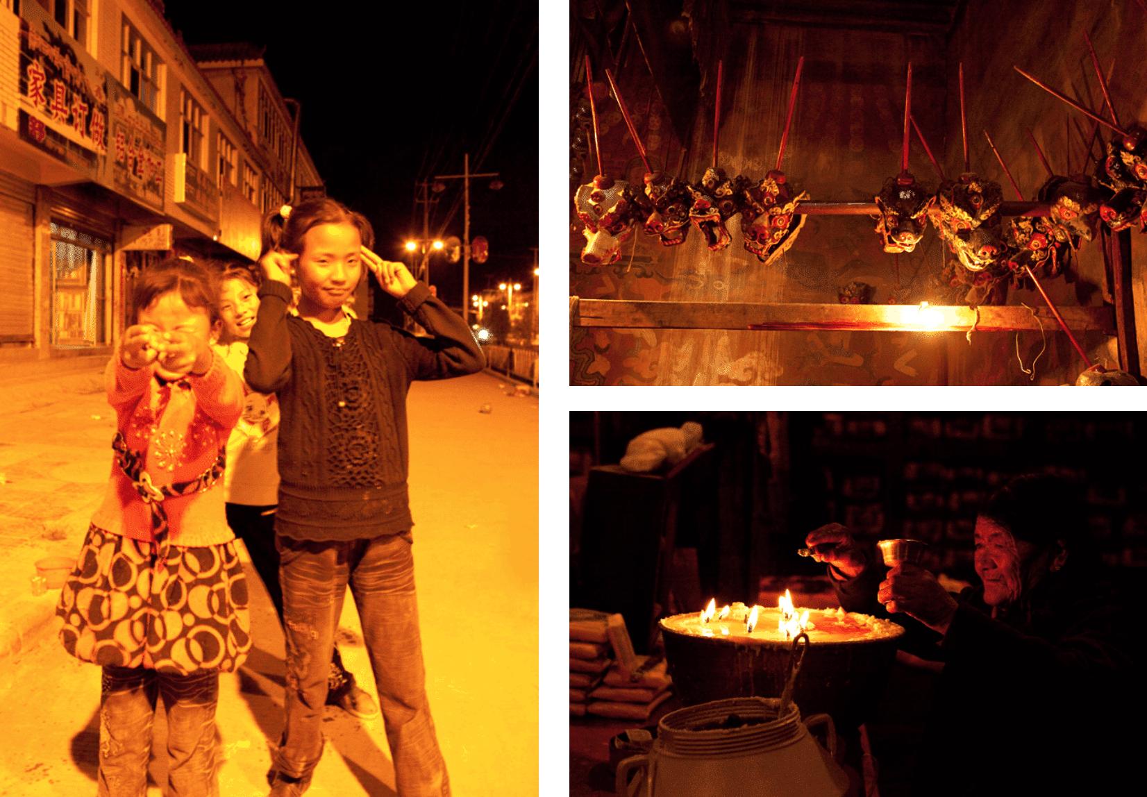 Tibet bei Nacht