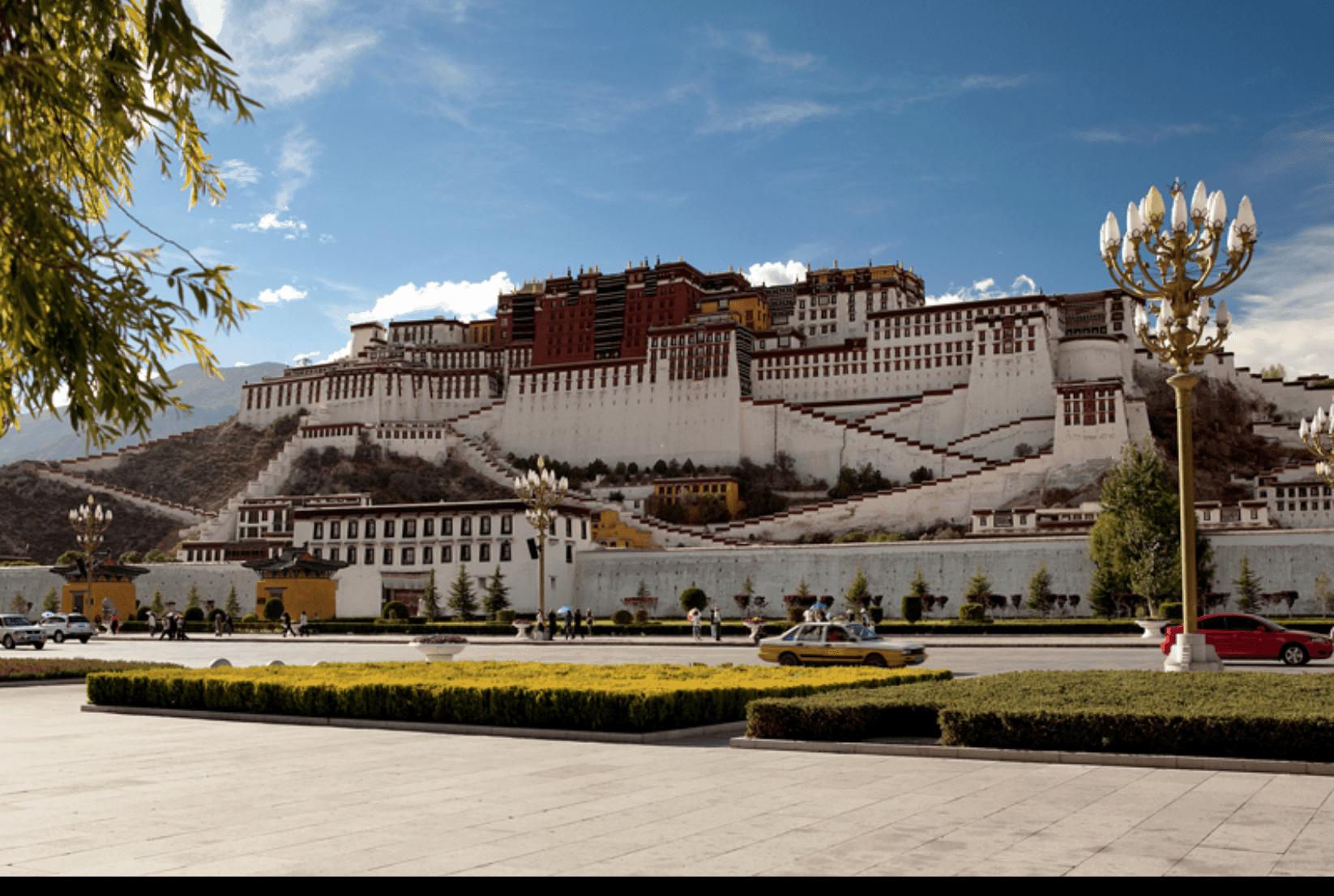 Tibet Lhasa Pothala
