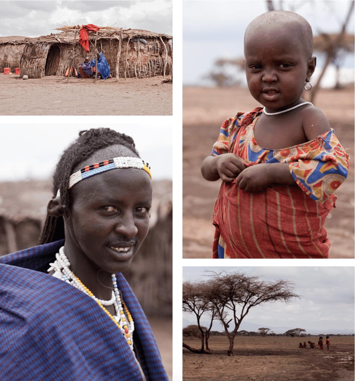 Massai Dorf Tansania