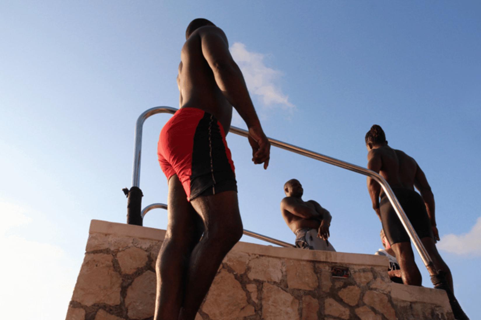 Jamaika schwarze Männer