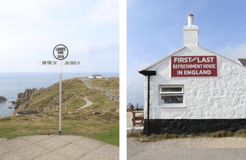 Lands End England