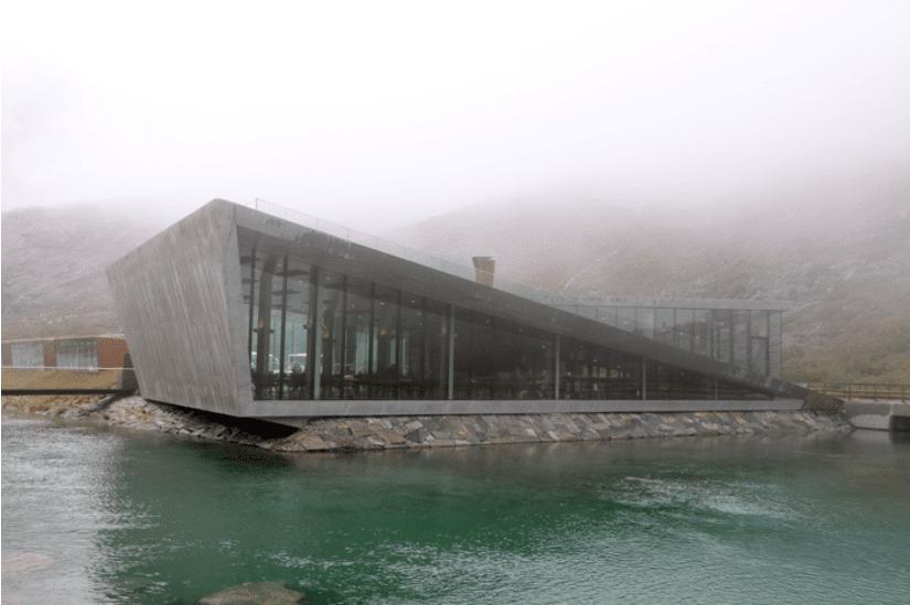 Norwegen Nebel