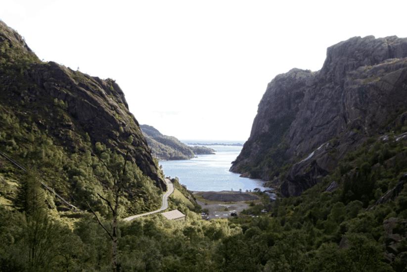 Norwegen Fjorde Süden