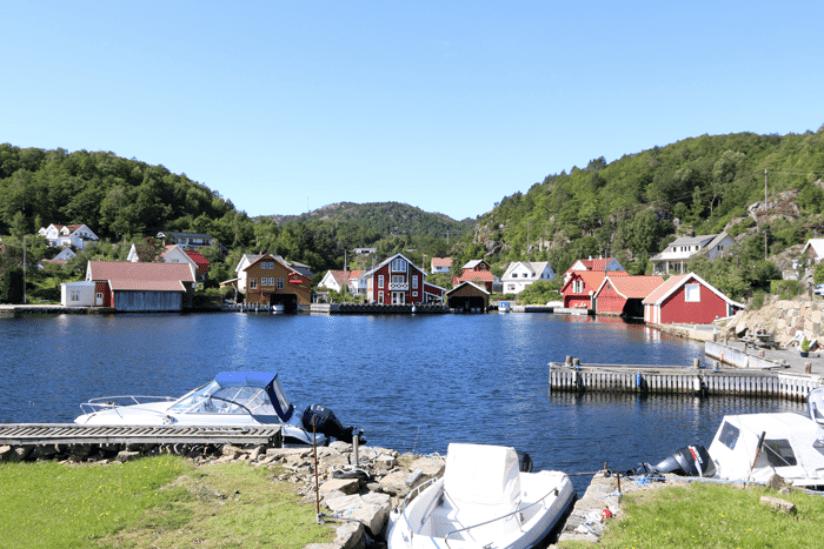 Norwegen Seen