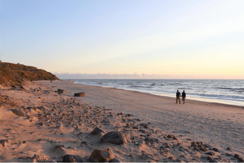 Dänemark Strand Sonnenuntergang