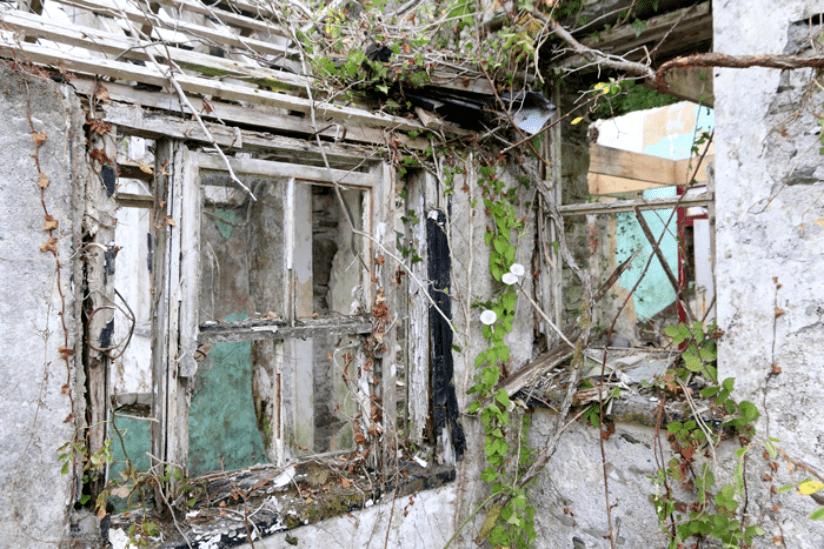 Irland Verlassene Häuser