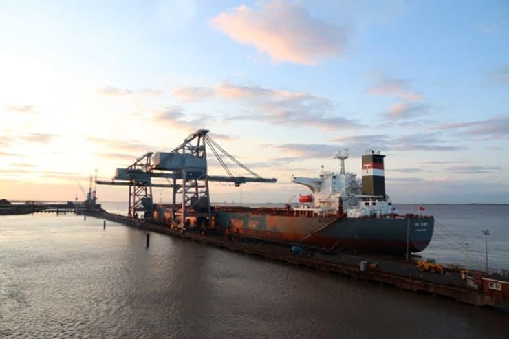 Frachtschiff England Dänemark