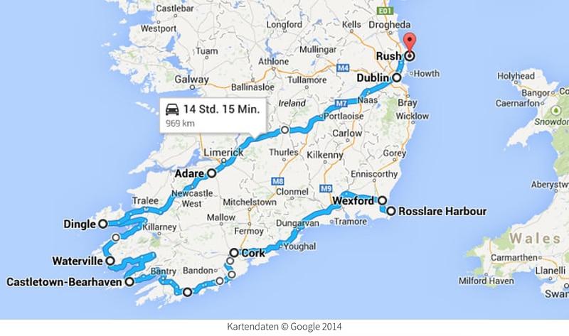 Irland Rundreise - Camping - Reiseblog Bravebird