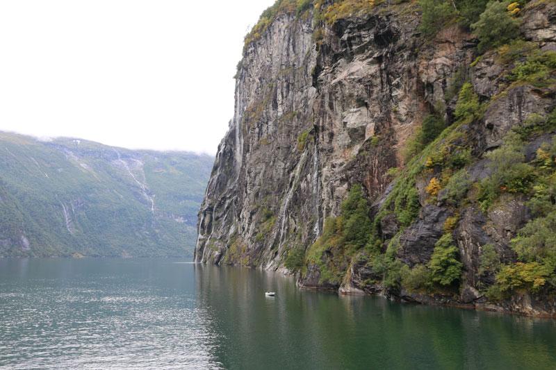 Norwegen Geiranger Fähre Fjord - Reiseblog Bravebird