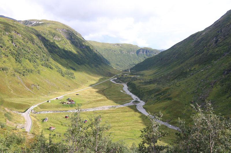 Norwegen Täler - Landschaft - Reiseblog Bravebird