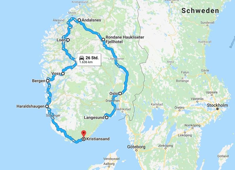 Camping - Route durch Südschweden - Reiseblog Bravebird