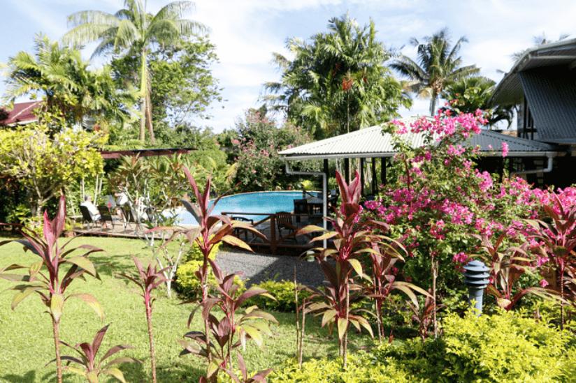 Samoa Fale Garten