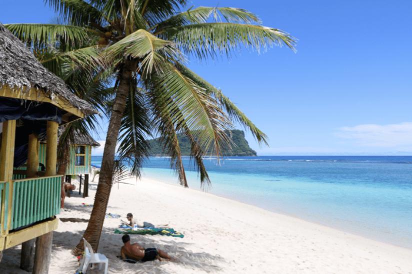 Samoa Lalomanu Strand