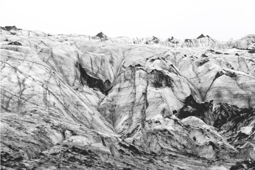 Island Gletscher Eis
