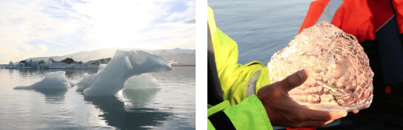 Island Gletscher Blog