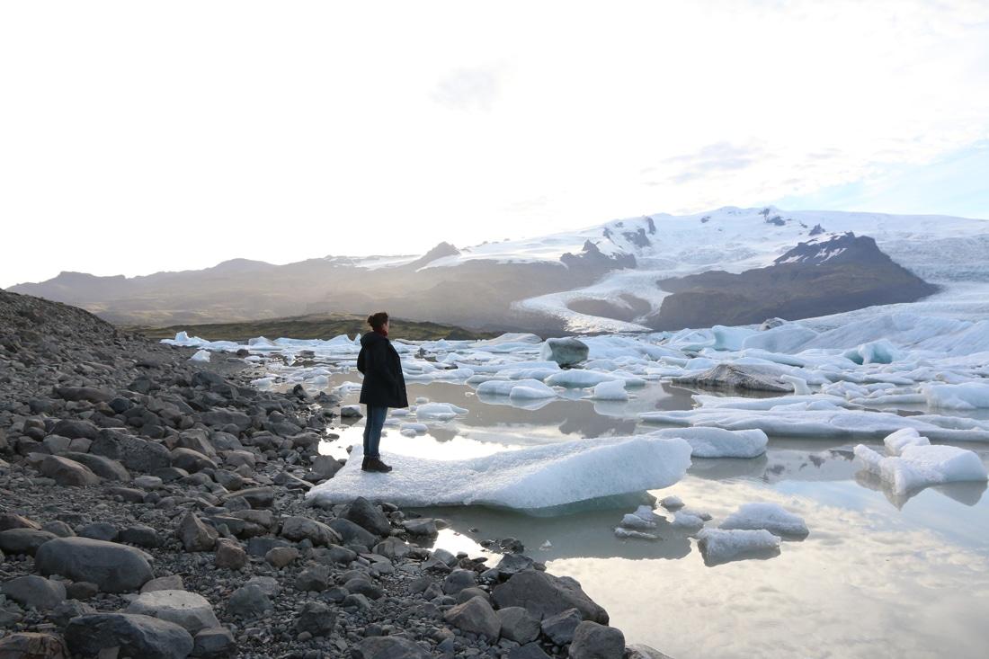 Lagune Eisberge Island Reiseblog Bravebird