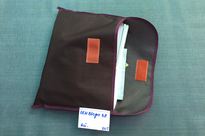 Vietnam Produktion Rucksack - Muster - Reiseblog Bravebird