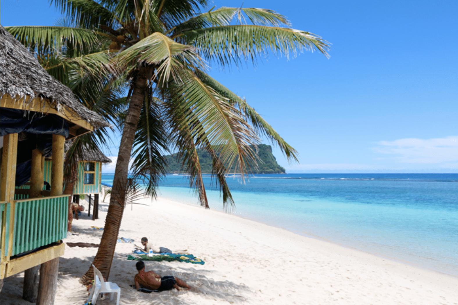 Samoa, Südsee: Chillen am schönsten Strand