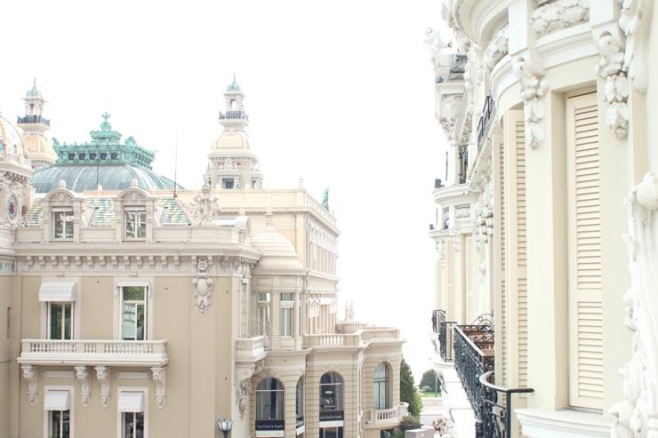 Ausblick L'Hotel de Paris