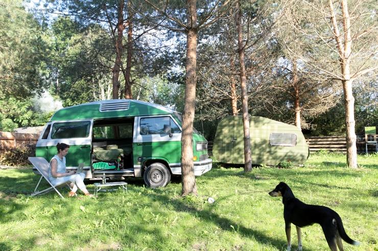 Leben und Arbeiten im Camper