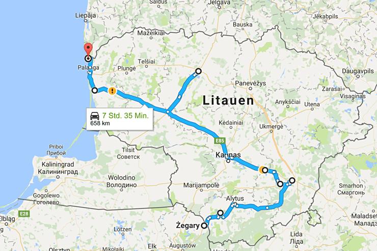 litauen-route
