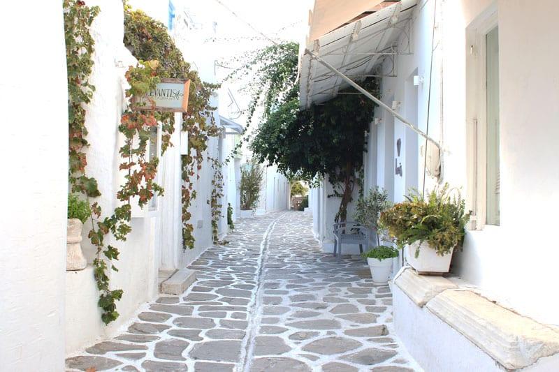 Shopping Griechenland Insel Paros - Cafe Parikia - Reiseblog Bravebird