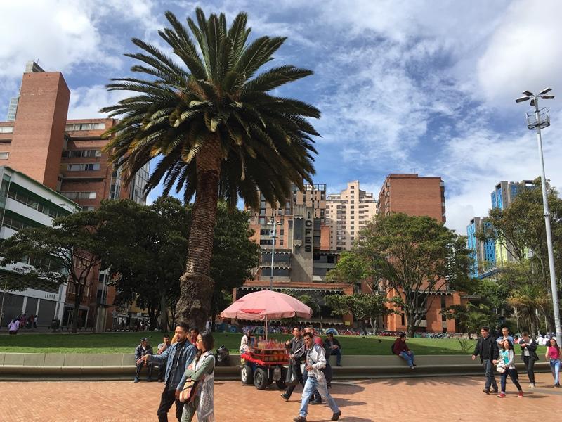 Rundreise Kolumbien - Bogota Hauptstadt - Reiseblog Bravebird