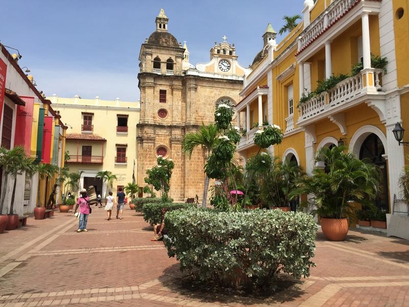 Kolumbien - Altstadt in Cartagena - Reiseblog Bravebird