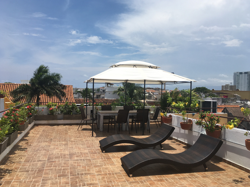 Cartagena Hostel in Kolumbien - Reiseblog BRAVEBIRD