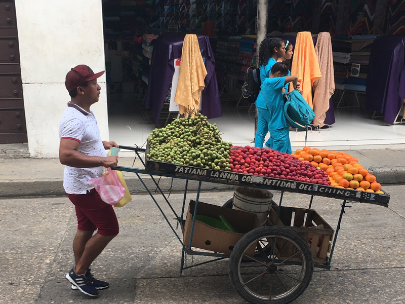 Cartagena Streetlife in Kolumbien - Reiseblog BRAVEBIRD