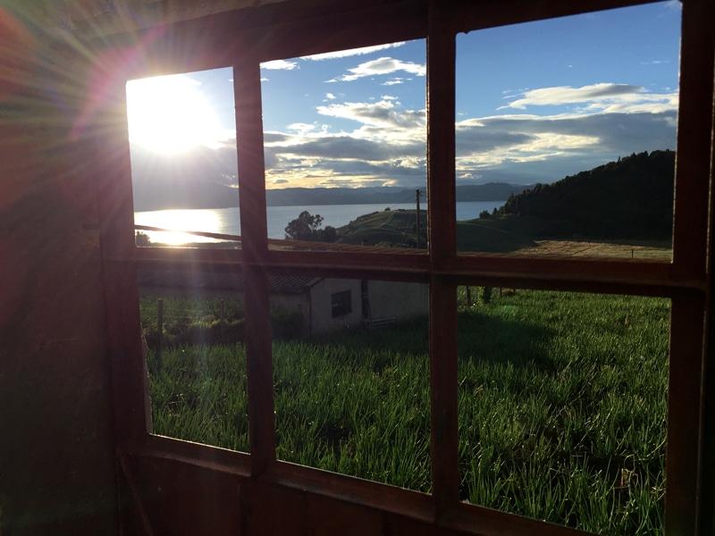 Kolumbien Lago de Tota - Reiseblog Bravebird