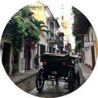 Verkehrsmittel in Kolumbien - Reiseblog Bravebird